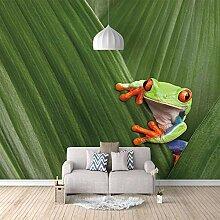Fototapete Grüne Blätter, Tiere Moderne Wandbild