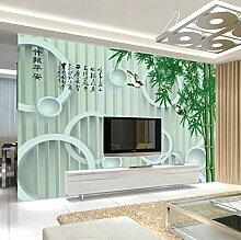 Fototapete Grüner Bambus Moderne Wandbild Tapete