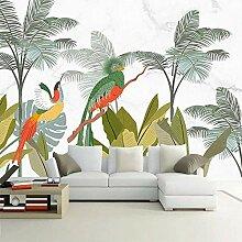 Fototapete Grüner Vogel 3D Wandbilder Für