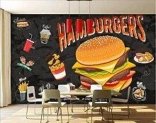 Fototapete Hamburger Cola Selbstklebende Tapeten
