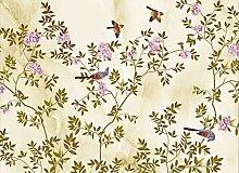Fototapete Handbemalter, Akribischer Blumen- Und