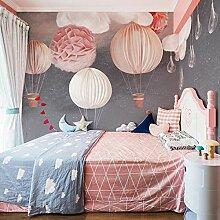 Fototapete Heißluftballon für Mädchenzimmer