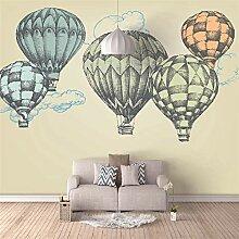 Fototapete Heißluftballon Moderne Wandbilder 3D