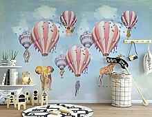 Fototapete Heißluftballontier Des Himmels