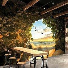 Fototapete Höhle Natur Landschaft Tv Hintergrund