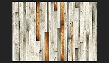 Fototapete Holz Design 245 cm x 350 cm East Urban