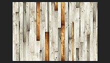Fototapete Holz Design 280 cm x 400 cm East Urban