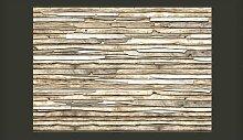 Fototapete Holz-Puzzle 245 cm x 350 cm East Urban