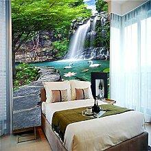 Fototapete Home Haus Tapete Wasserfall Fototapete