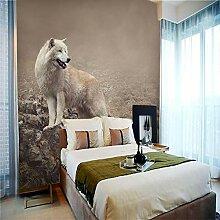 Fototapete Home Haus Tapete Wolf Fototapete Vlies