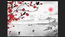 Fototapete Japanischer GArten 245 cm x 350 cm