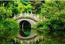 Fototapete Japanischer Garten 350 cm x 250 cm