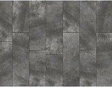 Fototapete Kachel Grau Vlies Wand Tapete
