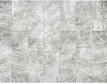 Fototapete Kachel Weiß Vlies Wand Tapete