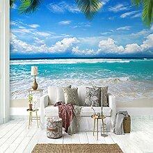 Fototapete Kinderzimmer Blick auf den Strand mit