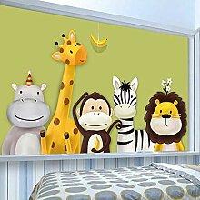 Fototapete Kinderzimmer Schlafzimmer Cartoon Thema