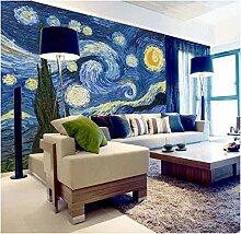 Fototapete Kinderzimmer Van Gogh Sternenhimmel