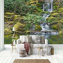 Fototapete Kinderzimmer Wasserfall Moos Landschaft