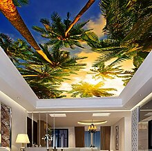Fototapete Kokosnussbaum Leinwand Wandbild