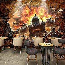 Fototapete Kriegspanzer Leinwand Wandbild