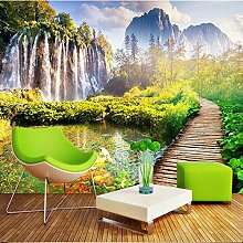 Fototapete Landschaft Wasserfall 3D Wandbilder