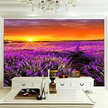 Fototapete Lavender Manor 350CM x 256CM Vlies