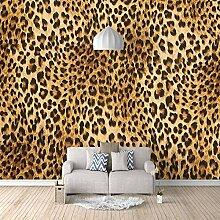 Fototapete Leopard Moderne Wandbild Tapete 3D