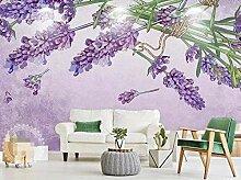 Fototapete Lila Schöne Romantische Lavendel