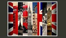 Fototapete London 245 cm x 350 cm East Urban Home