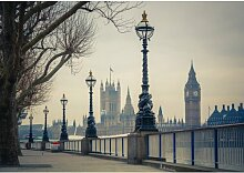 Fototapete London Big Ben 1845 cm x 50 cm 5-tlg.