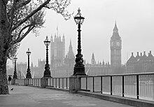 Fototapete - LONDON Thames- (142i) Größe 366x254