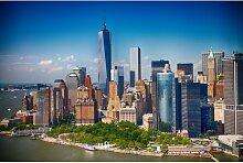 Fototapete Lower Manhattan Skyline 350 cm x 250 cm
