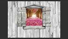 Fototapete Magisches Fenster 245 cm x 350 cm