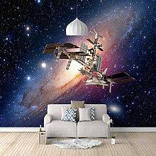 Fototapete Maschinen in der Galaxie Mauer Fresco