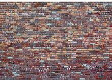 Fototapete Mauer 1.84 m x 254 cm East Urban Home