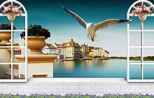 Fototapete Mittelmeerstil 3D Tapete