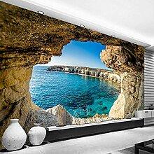 Fototapete, modern, einfache Höhlenlandschaft,