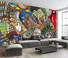 Fototapete Moderne 3D Tapeten Wandbild Graffiti