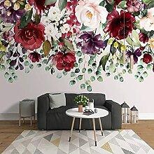 Fototapete Moderne Kunst Blume Pflanze Grünes