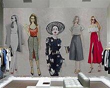 Fototapete Moderne Wanddeko Handgemalte Schöne