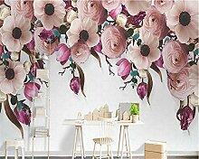 Fototapete Moderne Wanddeko Rose Flower Creative
