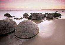 Fototapete - MOERAKI BOULDERS at Oamaru- (285i)