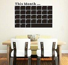 Fototapete, Motiv Hommay, Planen label Kalender memo Tafel/Dekoration für Zuhause, Motiv, wasserdicht, X60CM 80 cm
