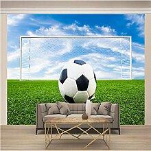 Fototapete Mural Tapete Fußball 250x175cm 3D