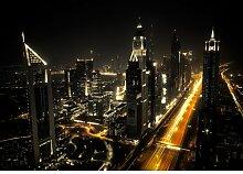 Fototapete Nacht Stadt 1.46 m x 208 cm East Urban