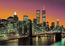 Fototapete New York City 254 cm x 366 cm Brayden