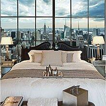 Fototapete New York City Gebäude Fenster