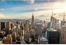 Fototapete New York City Skyline 350 cm x 250 cm