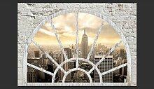 Fototapete New York - die Stadt am Morgen 210 cm x