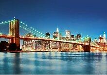 Fototapete New York East River 254 cm x 366 cm